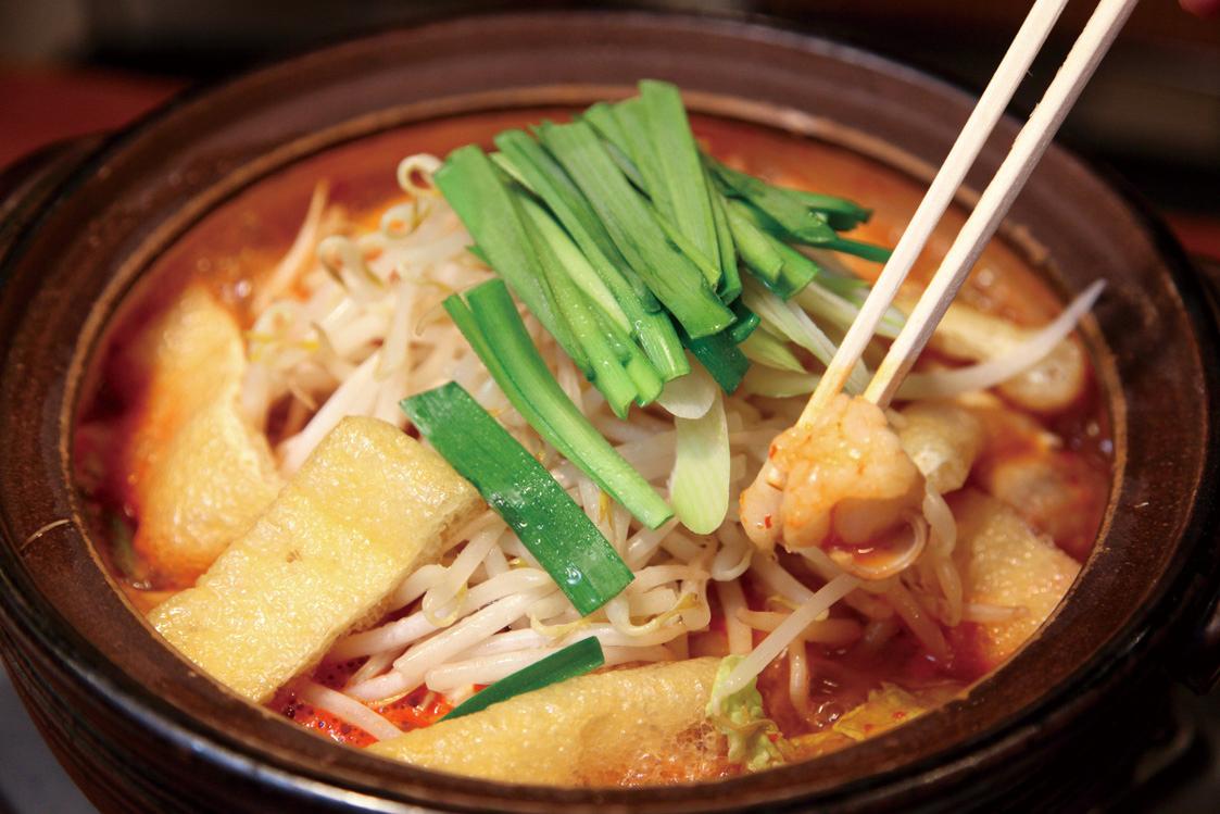 温活におすすめのキムチ鍋